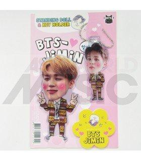 Jimin (BTS) - Standing Doll & Porte-clé (Type C)