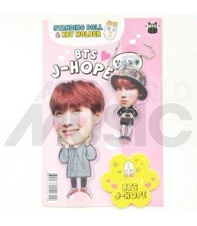 J-Hope (BTS) - Standing Doll & Porte-clé (Type C)