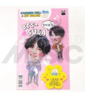 Suga (BTS) - Standing Doll & Porte-clé (Type D)