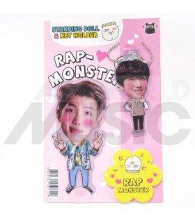 Rap Monster (BTS) - Standing Doll & Porte-clé (Type C)