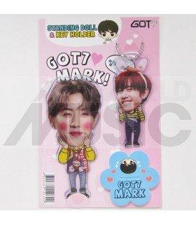 Mark (GOT7) - Standing Doll & Porte-clé (Type C)
