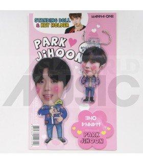 PARK JI HOON (WANNA ONE) - Standing Doll & Porte-clé (TYPE B)