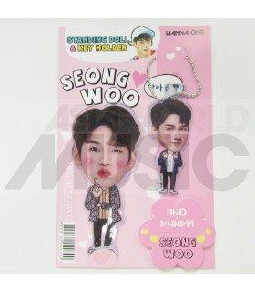 SEONG WU (WANNA ONE) - Standing Doll & Porte-clé (TYPE B)