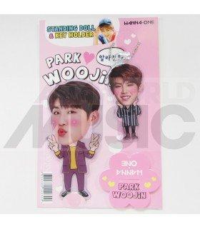 PARK WOO JIN (WANNA ONE) - Standing Doll & Porte-clé (TYPE B)