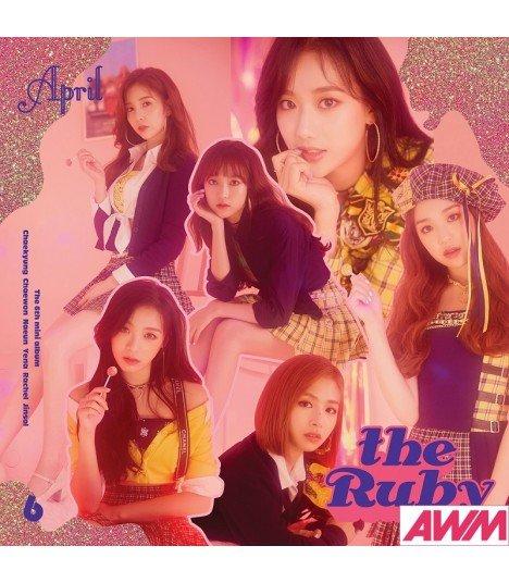 APRIL (에이프릴) Mini Album Vol. 6 - The Ruby (édition coréenne)