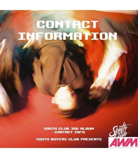 South Club (남태현) EP Album Vol. 3 - Contact Information (édition coréenne)
