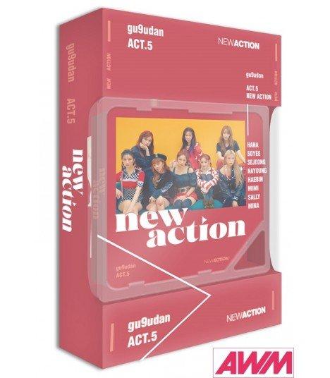 gugudan (구구단) Mini Album Vol. 3 - new action (Kihno Album) (édition coréenne)