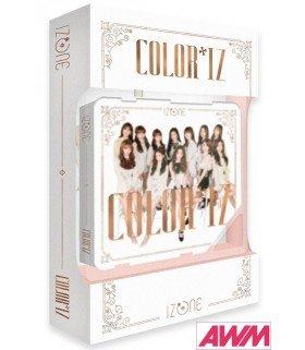 IZ*ONE (아이즈원) Mini Album Vol. 1 -COLOR*IZ (ROSE ver. / Kihno Album) (édition coréenne)