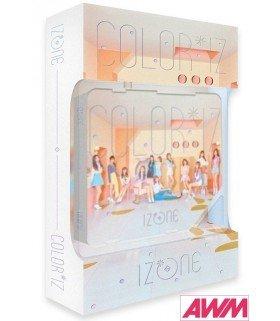 IZ*ONE (아이즈원) Mini Album Vol. 1 - COLOR*IZ (COLOR ver. / Kihno Album) (édition coréenne)