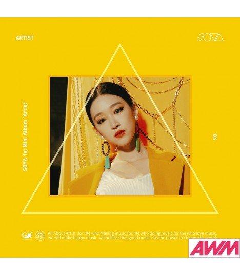 SOYA (소야) Mini Album Vol. 1 - ARTIST (4CD) (édition coréenne)