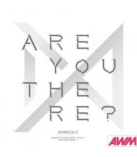 Monsta X (몬스타엑스) Vol. 2 TAKE.1 - ARE YOU THERE? (édition coréenne)