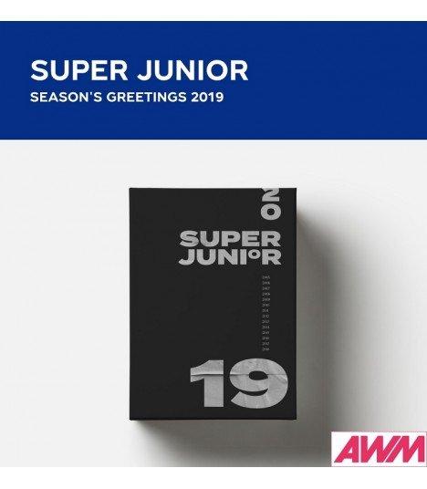 Super Junior (슈퍼주니어) 2019 Season's Greetings (Calendrier officiel) (édition coréenne)