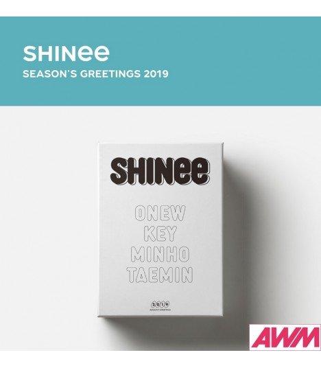 SHINee (샤이니) 2019 Season's Greetings (Calendrier officiel) (édition coréenne)