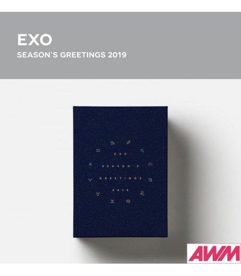 EXO (엑소) 2019 Season's Greetings (Calendrier officiel) (édition coréenne)