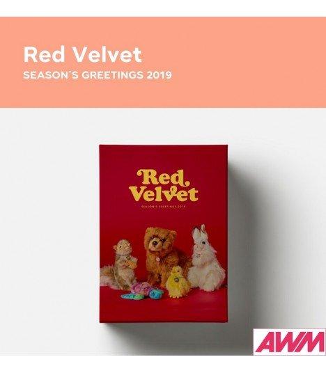 Red Velvet (레드벨벳) 2019 Season's Greetings (Calendrier officiel) (édition coréenne)