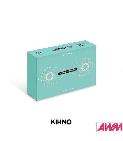WANNA ONE (워너원) Vol. 1 - 1¹¹ 1 POWER OF DESTINY (Kihno Album) (édition coréenne)