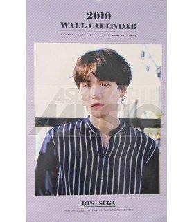 SUGA (BTS) - Calendrier Mural 2019 K-STAR (Type A)