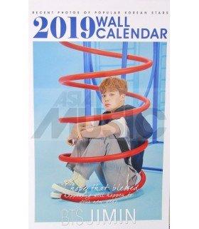 JIMIN (BTS) - Calendrier Mural 2019 K-STAR (Type B)