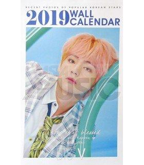 V (BTS) - Calendrier Mural 2019 K-STAR (Type B)