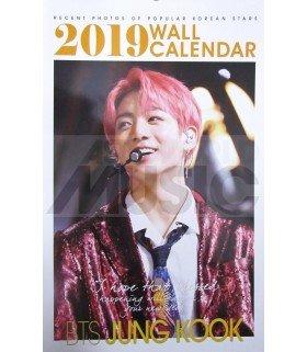 JUNG KOOK (BTS) - Calendrier Mural 2019 K-STAR (Type B)