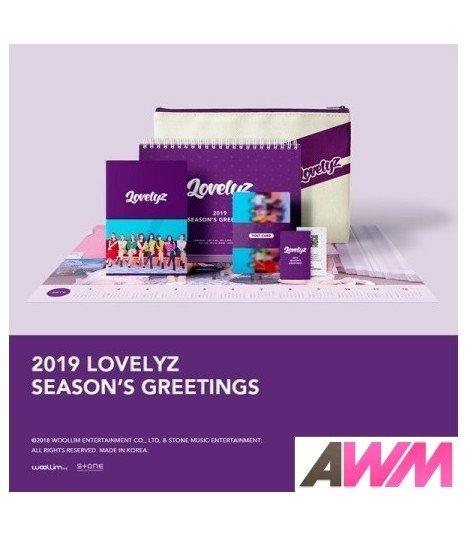 Lovelyz (러블리즈) 2019 Season's Greetings (Calendrier officiel) (édition coréenne) (Poster offert*)