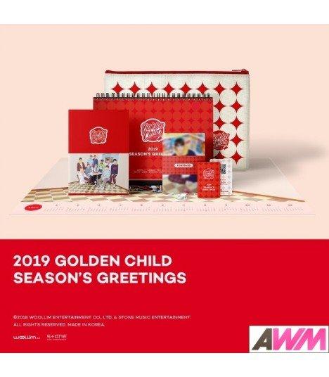 Golden Child (골든차일드) 2019 Season's Greetings (Calendrier officiel) (édition coréenne) (Poster offert*)