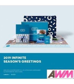 Infinite (인피니트) 2019 Season's Greetings (Calendrier officiel) (édition coréenne)