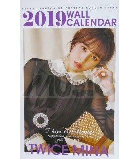 MINA (TWICE) - Calendrier Mural 2019 K-STAR (Type B)