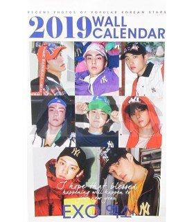 EXO - Calendrier Mural 2019 K-STAR (Type B)