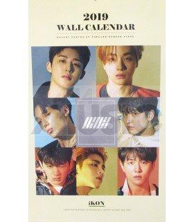 IKON - Calendrier Mural 2019 K-STAR (Type A)