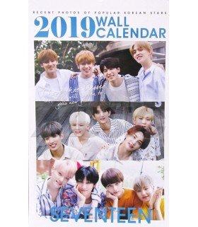 SEVENTEEN - Calendrier Mural 2019 K-STAR (Type B)
