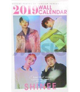 SHINEE - Calendrier Mural 2019 K-STAR (Type B)