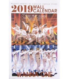 WANNA ONE - Calendrier Mural 2019 K-STAR (Type B)