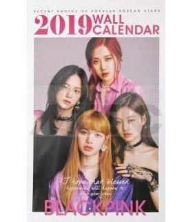 BLACKPINK - Calendrier Mural 2019 K-STAR (Type B)