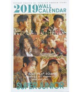 SUPER JUNIOR - Calendrier Mural 2019 K-STAR (Type B)