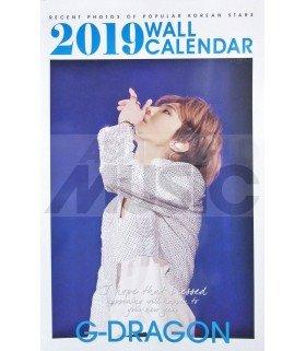 G-DRAGON - Calendrier Mural 2019 K-STAR (Type B)
