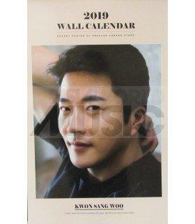 KWON SANG WOO - Calendrier Mural 2019 K-STAR (Type A)