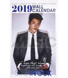 SEO IN GUK - Calendrier Mural 2019 K-STAR (Type B)