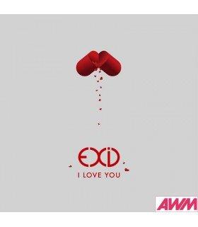 EXiD (이엑스아이디) Single Album Vol. 3 - I LOVE YOU (édition coréenne)