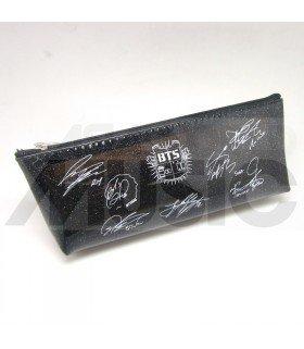 BTS - Trousse Plate - Bulletproof Autographed (BLACK)