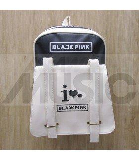 BLACKPINK - Sac à dos femme LOGO (BLACK)