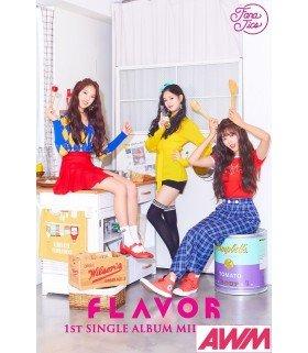 FLAVOR (플레이버) Single Album Vol. 1 - MILKSHAKE (édition coréenne)