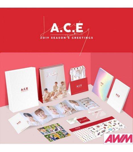 A.C.E (에이스) 2019 Season's Greetings (Calendrier officiel) (édition coréenne)