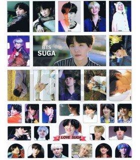 BTS - Set de stickers SUGA 006