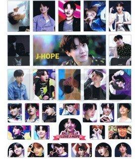 BTS - Set de stickers J-HOPE 004