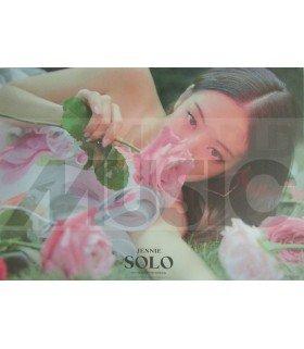Affiche officielle JENNIE- SOLO (Poster double-face)