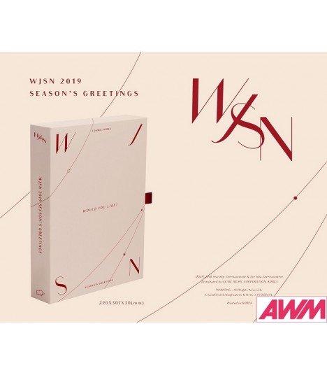 WJSN (Cosmic Girls) 2019 Season's Greetings (Calendrier officiel) (édition coréenne)
