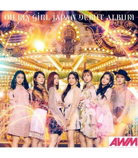 OH MY GIRL - Japan Debut Album (Type A / CD+DVD) (édition limitée  japonaise)