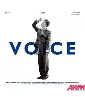 ONEW (온유) Mini Album Vol. 1 - VOICE (édition coréenne)
