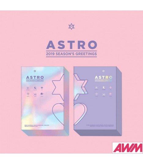 ASTRO (아스트로) 2019 Season's Greetings (Calendrier officiel) (édition coréenne)